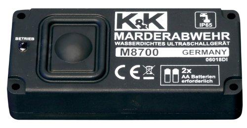 cartrend 80246 marderabwehr m8500 car port ger t mit ultraschall batteriebetrieb akustischer. Black Bedroom Furniture Sets. Home Design Ideas