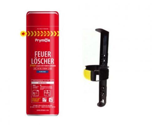 Prymos Feuerlöschspray Fahrzeuge 580 ml + KFZ-Halterung im Vorteilsset