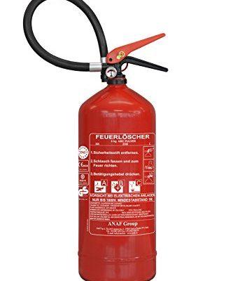Feuerlöscher 6kg ABC Pulver-Dauerdruck mit Manometer