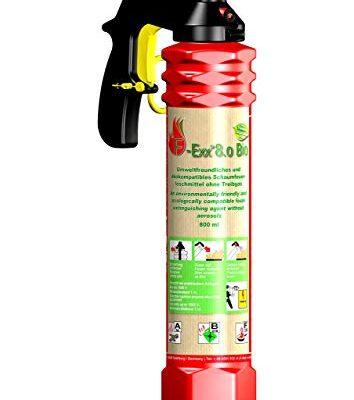 F-Exx 8.0 Bio – Der Umweltfreundliche Bio-Feuerlöscher inkl. Wandhalterung Made in Germany