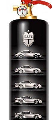 DNC TAG Safe-T Feuerlöscher, Design Porsche Auto Sportwagen