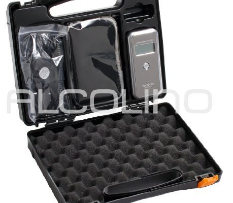 Alcolino Digitales Alkoholmessgerät mit austauschbarem Sensor AL7000Deluxe, Version mit allen Extras