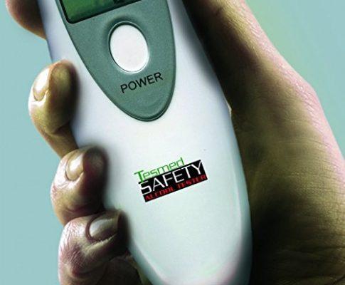 tesmed Safety Alkohol-Tester,wiederverwendbar– Alkoholmessgerät/Alkoholtester, tragbar mit genauem Sensor und LCD–präzise und verlässlich, von Tesmed