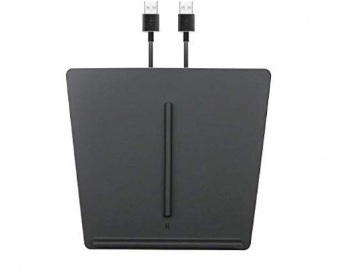 LFOTPP Fast Wireless Charger Qi Drahtloses Ladegerät pad für Model 3