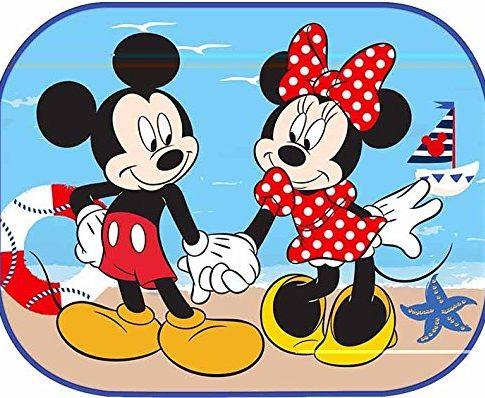 Eurasia Disney Minnie and Mickey Sunshades 2Side Window Sun 44x 35cm x 2pcs Sun Shade