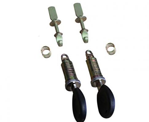 APDISTRIBUTION Schloss für Türzylinder vorne Links rechts für Polo 6N Zylinder Cordoba Ibiza + 2 Schlüssel