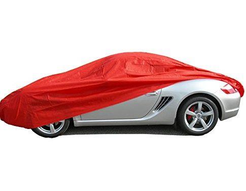 Größe XL 482x180x144 cm, Rot – ballier Autoabdeckung Puff Indoor