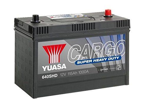 YUASA 640shd Cargo Super Heavy Duty Akku