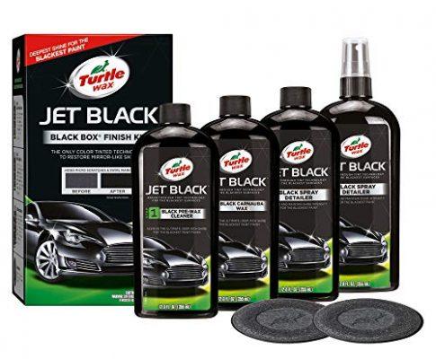 Turtle Wax 52731 Color Magic Jet Black Box Autolack-Restaurator-Kit Hellt Verblasste Und Verlorene Farbe Auf Kit