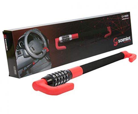 Pedal Lenkradschloss Auto 49,5-78 cm Diebstahlsicherung PKW Pedalschloss SCHMIDT security tools
