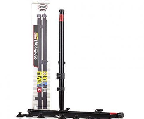 HEYNER® 512400 UV Premium Auto-Sonnenrollo 2 x 52 cm