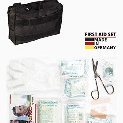 Mil-Tec First Aid Set Leina pro.25-TLG sm schwarz