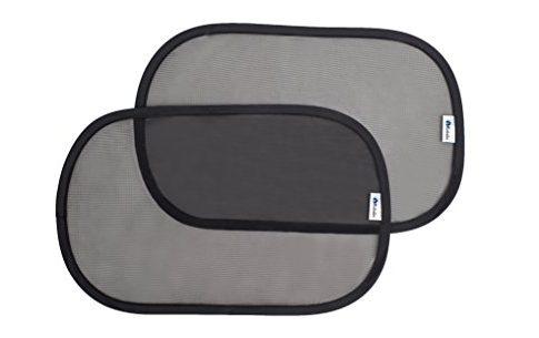 Altabebe AL7023 Sonnenschutz selbstklebend 2 Stück Pro Verpackung, 48 x 30 cm, schwarz