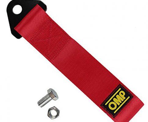 Anhänger Seil, Strap Tow Professionelle Schäkel Universal Notfall Fahrzeug Schleppseil Für Auto Lkw Anhänger SUV26 CM,rot
