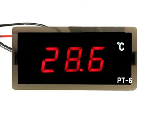 12V -40~110C Auto LED-Digital-Thermometer Meter Probe – Ils