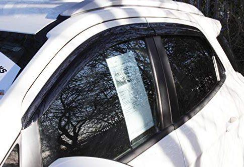 Für Ford Ecosport Windabweiser-Set 4Stück geräuchert