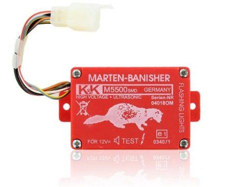 K&K Marderschutz Marderabwehr M5500 SMD Ultraschallgerät 21-23 kHz 100 dBA