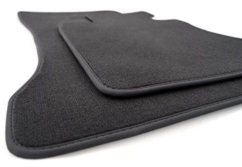 kh Teile Fußmatte BMW 5er E60 E61 Original Qualität Velours Nubuk anthrazit 2.teilig