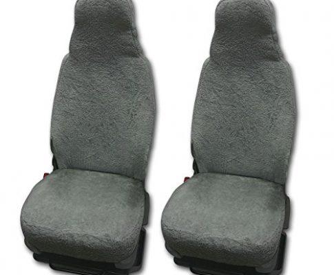RAU Universal Sitzbezuge Schonbezüge aus 100% Frottee Farbe: elefant für Pilotsitze und Wohnmobile