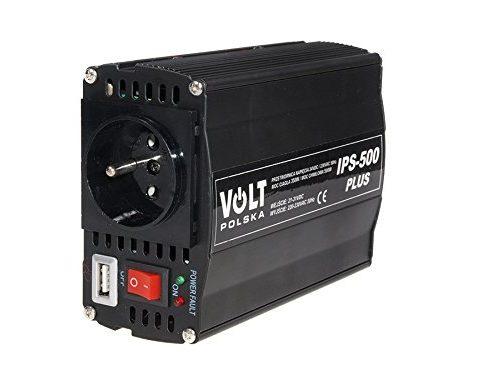 Volt Plus–Spannungswandler des Fahrzeugs, 24V/230V/500W