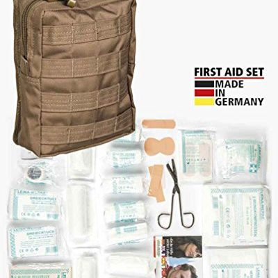 First Aid Set Leina pro.43-tlg lg dark coyote