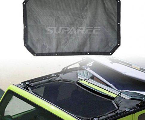 suparee Netz Bikini Dach Sonnenschirm für bietet UV-Schutz Sun Shade für 2/4 Tür