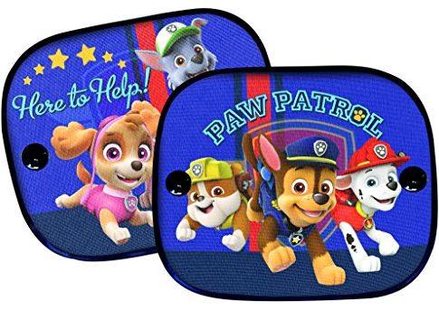 Paw Patrol PASAA010 Sonnenschutz, 2er Set, Blau