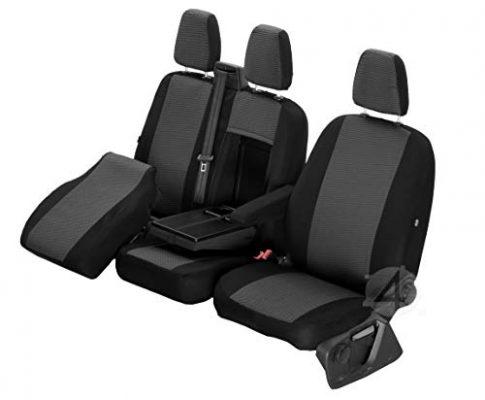 Passgenaue Sitzbezüge Hero ideal angepasst 1+2 3-Sitzer Fahrzeugspezifisch Polstermaterial | 4D-Z4L-DV-TC3M-01-65