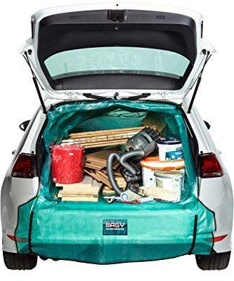 DAS ORIGINAL   Kofferraumschutz   Auto-Transportsack   Kofferraummatte   Für alle Fahrzeug-Modelle   Auto Transport-Tasche für Gartenabfälle, Holz & Bauschutt   Universalgröße M-XXL   – Bagy®