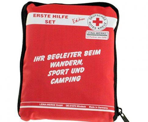 LEINA-WERKE 82110 Drk-Edition Reise-Set, Rot, 110 x 25 x 150mm