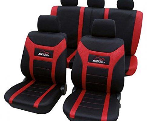 Cars-Design Super Speed rot 1224 Schonbezug Sitzbezug Autoschonbezug Schonbezüge für das unten angegebene Fahrzeug