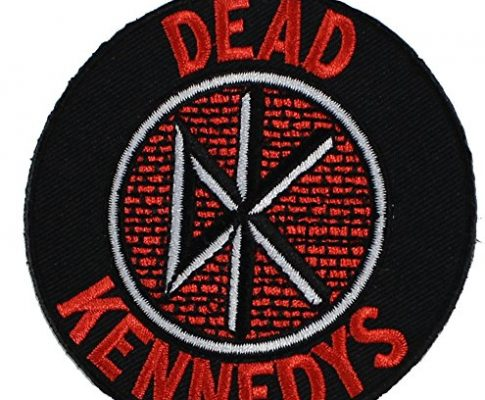 Iron-On – DEAD KENNEDYS, Logo, Officially Licensed Original Artwork, 3″ x 3″