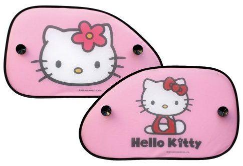 Hello Kitty 077361 Sonnenschutz Sonnenblende Seitenscheibe, 2 Stück