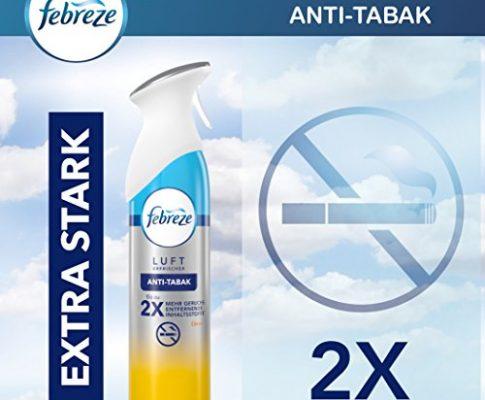Febreze Lufterfrischer Raumduft Raumspray Duftspray Anti-Tabak Spray 300ml