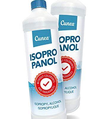 Isopropylalkohol IPA Lösungsmittel 2x 1000ml geeignet als Fettlöser, Reinigungsflüssigkeit & Reiniger – Isopropanol 99,9% Reinheit Klebereste Entferner 2-Propanol