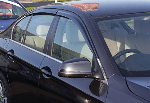 Autoclover Windabweiser-Set für BMW 5er F10 2010+, 4-teilig