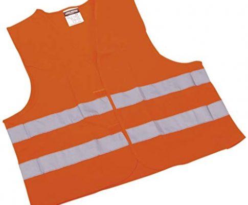 LEINA-WERKE Pannen-Warnwesten orange/13100 verpackt im Beutel